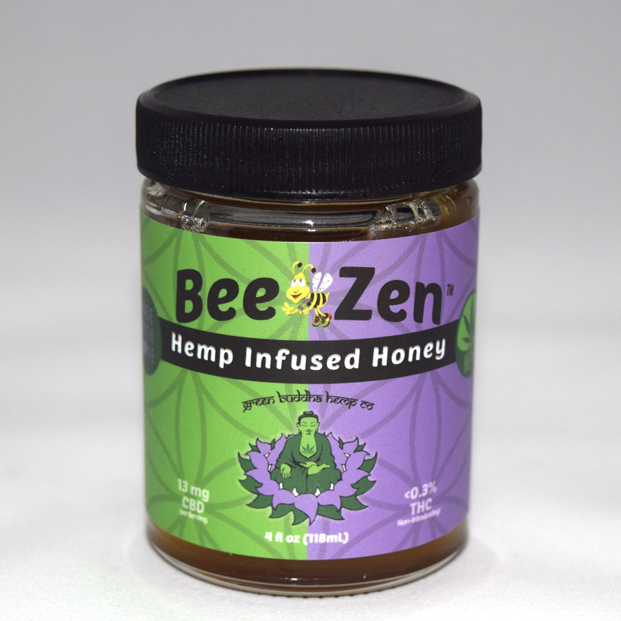BeeZen Hemp Infused Honey